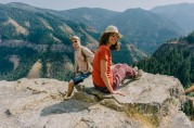 Andrew and Jo in Logan Canyon