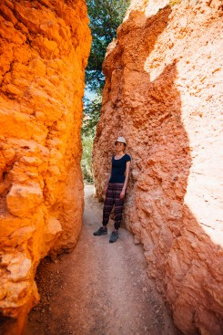 Jo in Bryce Canyon