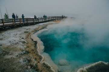Yellowstone National Park - bottomless pool