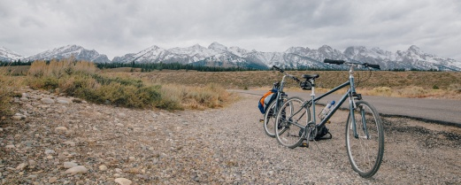 Great bike ride in Grand Teton National Park