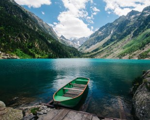 A chairlift and a hike led us to the beautiful Lac de Gaube